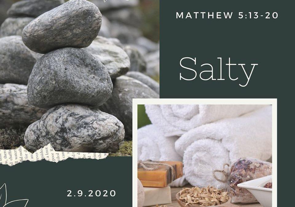 Salty!