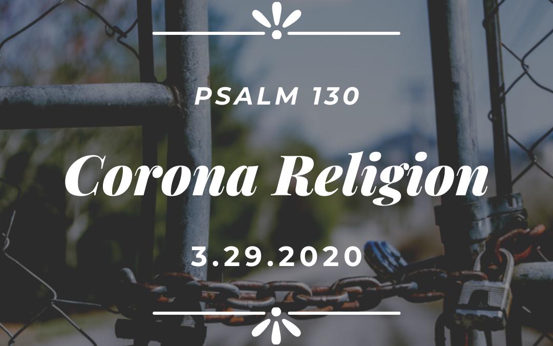 Corona Religion